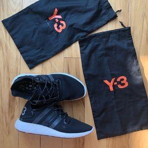 Silver Y3 Adidas - Yohji Yamamoto Sneakers